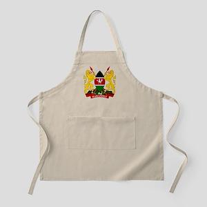 Kenya Coat Of Arms Apron