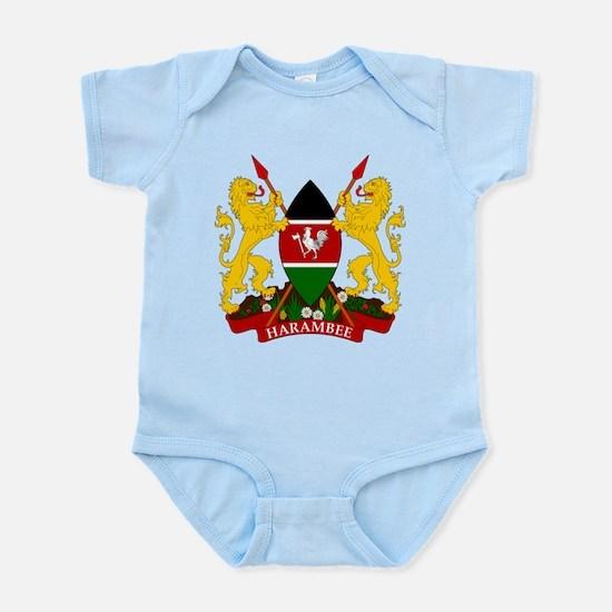Kenya Coat Of Arms Infant Bodysuit