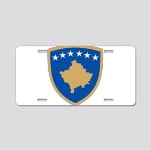 Kosovo Coat Of Arms Aluminum License Plate