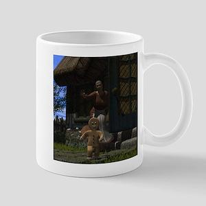 Runaway Gingerbread Man Mug