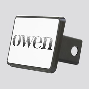 Owen Carved Metal Rectangular Hitch Cover