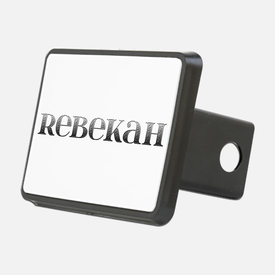 Rebekah Carved Metal Hitch Cover