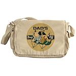 Dad's Day Off Messenger Bag