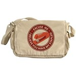Excuse Me Messenger Bag