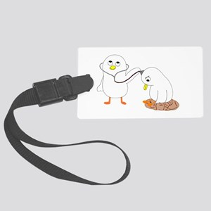 Psychiatrist Large Luggage Tag