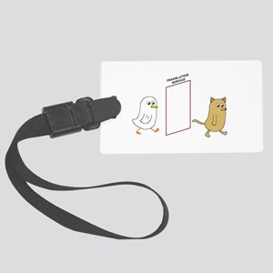 Translation Service Large Luggage Tag