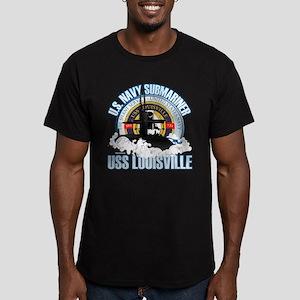 Navy Submariner SSN-724 Men's Fitted T-Shirt (dark