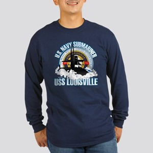 Navy Submariner SSN-724 Long Sleeve Dark T-Shirt