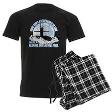 Designed to Sink Men's Dark Pajamas