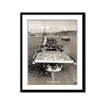 USS LEYTE Framed Panel Print