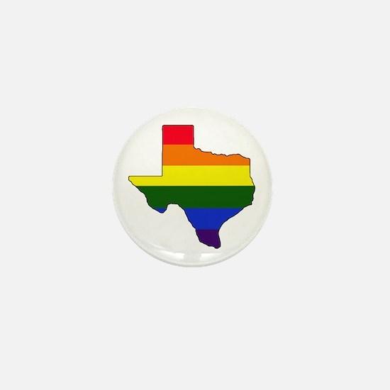 Texas Gay Pride Mini Button