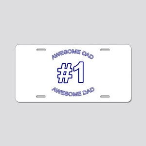 awesomedadblue Aluminum License Plate