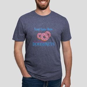 Doughnut Lover Mens Tri-blend T-Shirt