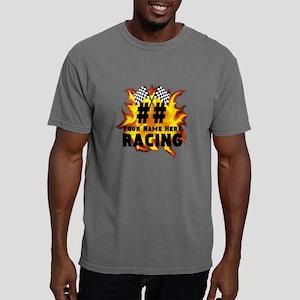 Flaming Racing Mens Comfort Colors Shirt