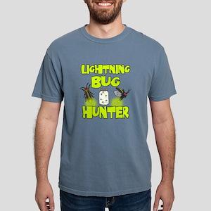 Lightning Bug Hunter Mens Comfort Colors Shirt