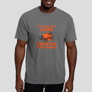 Lawn Service Mens Comfort Colors Shirt