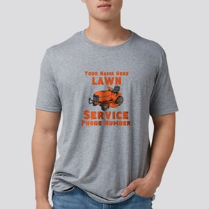 Lawn Service Mens Tri-blend T-Shirt