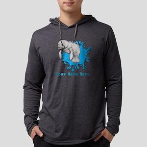Mantee Art Mens Hooded Shirt