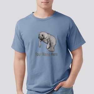 I love Manatees Mens Comfort Colors Shirt