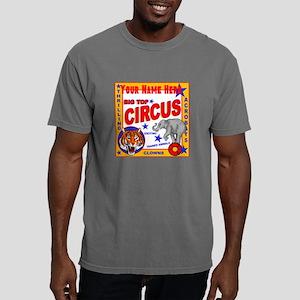 Retro Circus Mens Comfort Colors Shirt