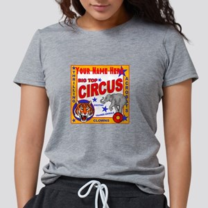 Retro Circus Womens Tri-blend T-Shirt