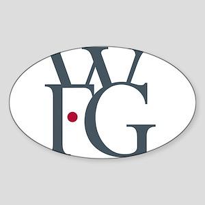 WFG Sticker (Oval)