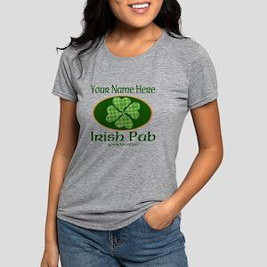 Irish Pub Womens Tri-blend T-Shirt