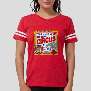 Vintage Circus Poster Womens Football Shirt