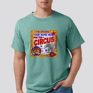 Vintage Circus Poster Mens Comfort Colors Shirt