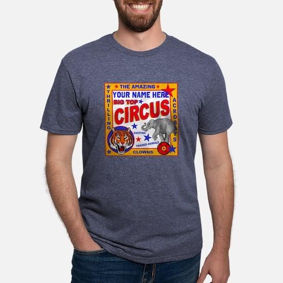 Vintage Circus Poster Mens Tri-blend T-Shirt