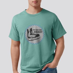 Hockey Sticker Mens Comfort Colors Shirt