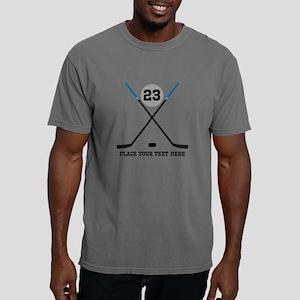 Customize Ice Hockey Mens Comfort Colors Shirt