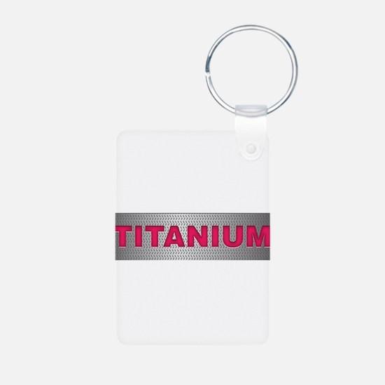 I am Titanium Keychains