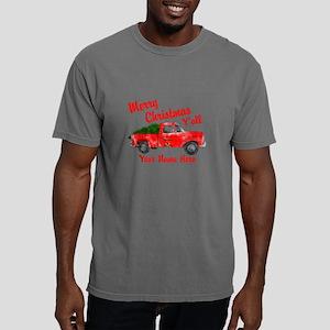 Merry Christmas Yall Mens Comfort Colors Shirt