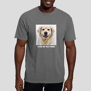 Dog Photo Customized Mens Comfort Colors Shirt