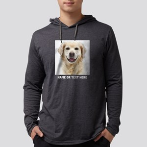 Dog Photo Customized Mens Hooded Shirt