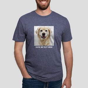 Dog Photo Customized Mens Tri-blend T-Shirt