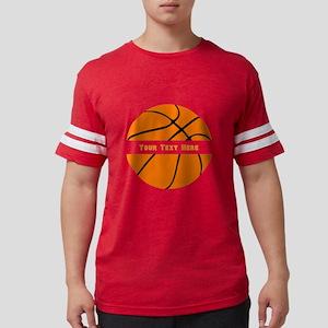 Basketball Personalized Mens Football Shirt