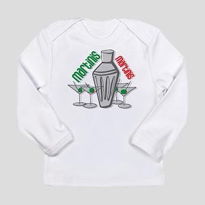 Martinis Long Sleeve Infant T-Shirt