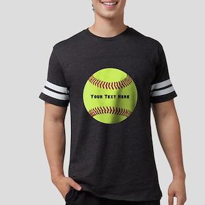 Customize Softball Name Mens Football Shirt