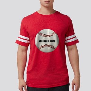 Baseball Name Customized Mens Football Shirt