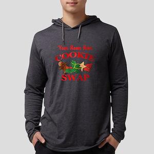 Cookie Swap Mens Hooded Shirt