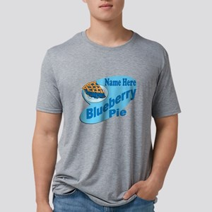 Blueberry Pie Mens Tri-blend T-Shirt