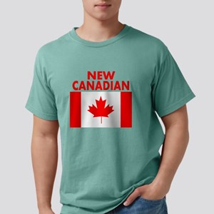 New Canadian Mens Comfort Colors Shirt