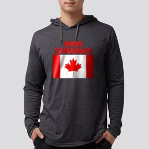 New Canadian Mens Hooded Shirt