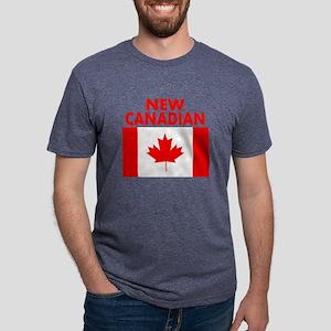 New Canadian Mens Tri-blend T-Shirt
