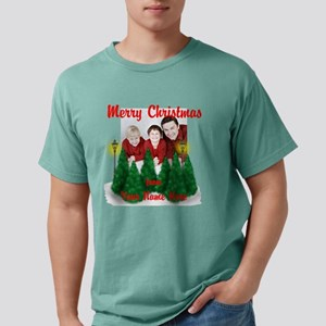 Family Christmas Mens Comfort Colors Shirt