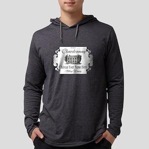 Classic Custom Chardonnay Mens Hooded Shirt