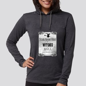 Witches Ball Womens Hooded Shirt