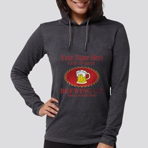 Your Brewing Company Womens Hooded Shirt